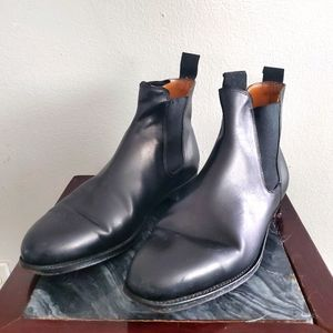 John Lobb Peter Leather Chelsea Boots Men's 10.5